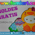 Moldes Gratis : Hello Kitty disfrazada de Patito