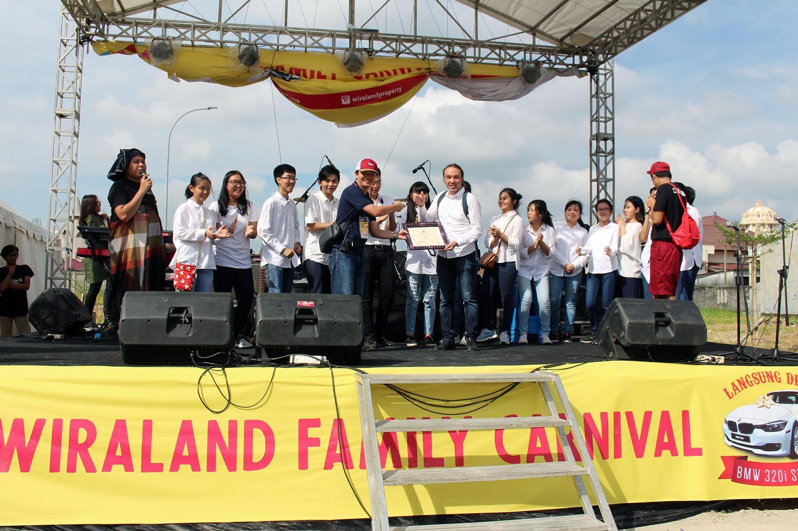 Pemenang Mobil dari Wiraland Family Carnival