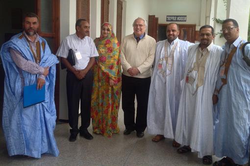 تجمع المدافعين الصحراويين عن حقوق الإنسان يلتقي بالمكلفة بالشؤون السياسية بسفارة الولايات المتحدة الأمريكية بالرباط