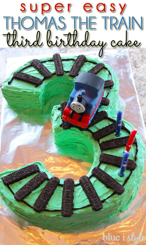 Entertaining With Style Two Super Easy Train Cake Options Blue I