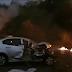 Pai herói: ardendo em meio às chamas, ele morreu salvando a filha de 17 dias