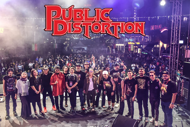 Public Distortion 2017 Umpama Medan Tempur