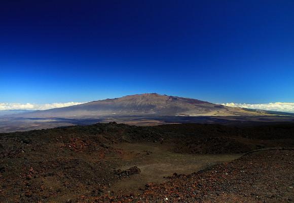 Vulcao-em-escudo-Mauna-Loa