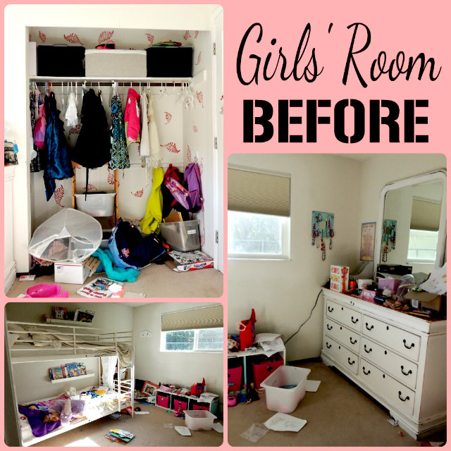 Fun Girl Room: Cleaning Up The Girls' Room