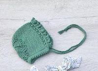 capota verde algodón
