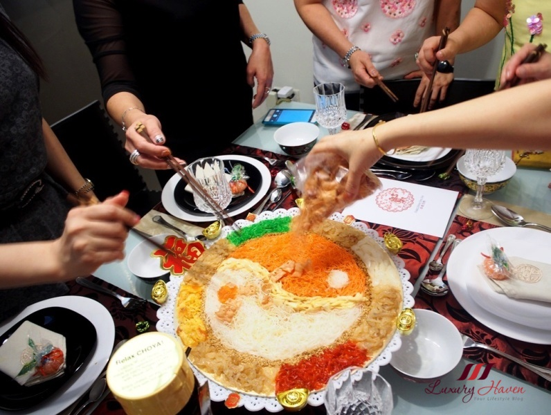 lunar new year prosperity toss yu sheng recipe