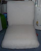 jak samemu odnowić fotel PRL