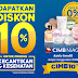 Promo Diskon 10% untuk Pengguna Kartu Kredit CIMB NIAGA