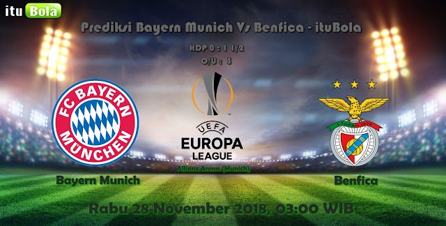 Prediksi Bayern Munich Vs Benfica - ituBola