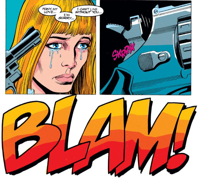 The Peerless Power of Comics!: Target: Tony Stark!