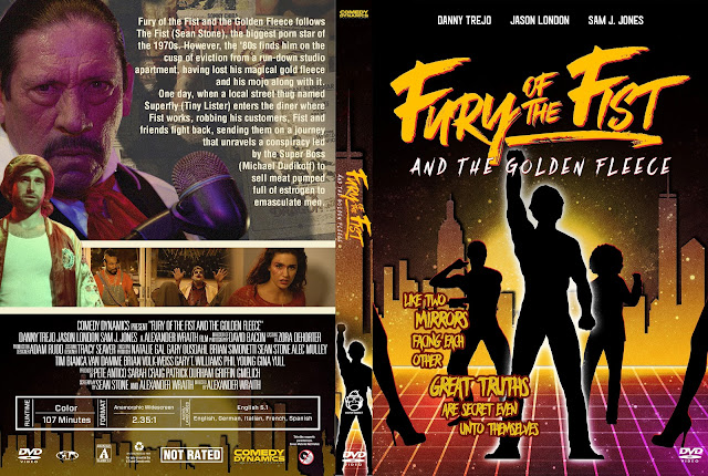 Fury of the Fist and the Golden Fleece DVD Cover