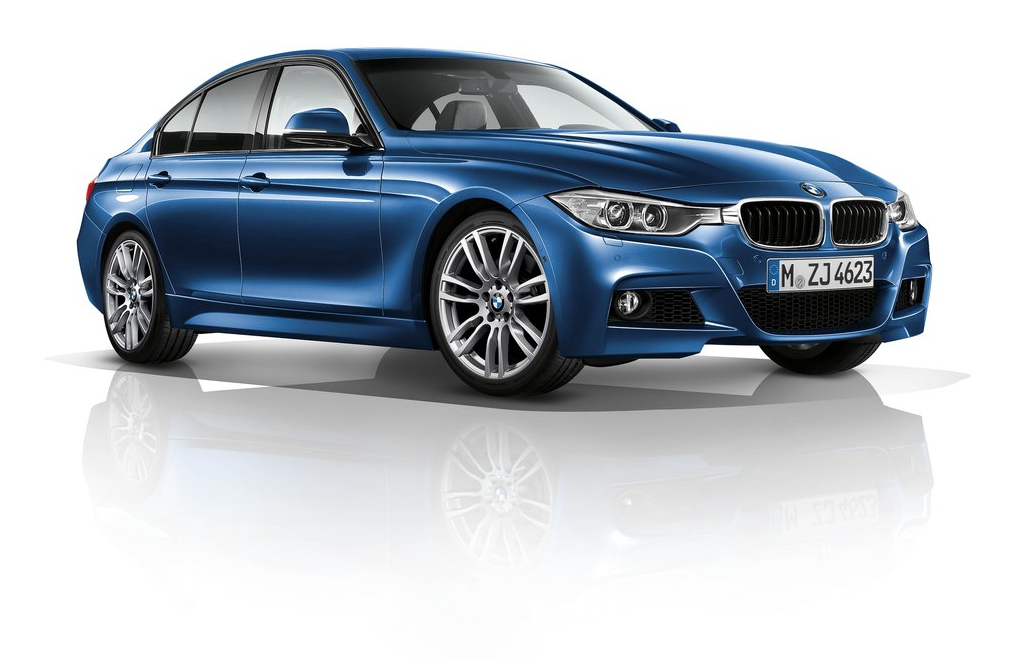 2012 BMW 3-Series sedan blue
