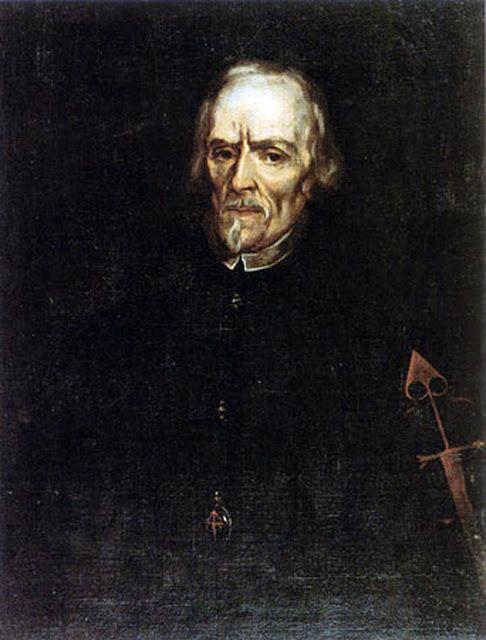 Retrato de Calderon de la barca, Juan de Alfaro y Gámez, Maestros españoles del retrato, Pintores españoles, Pintor español