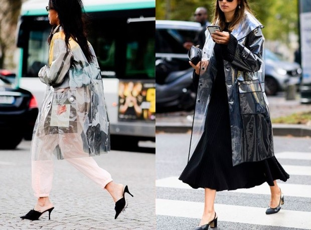 Transparent Fashion Trench Coats Winter 2019 For Women