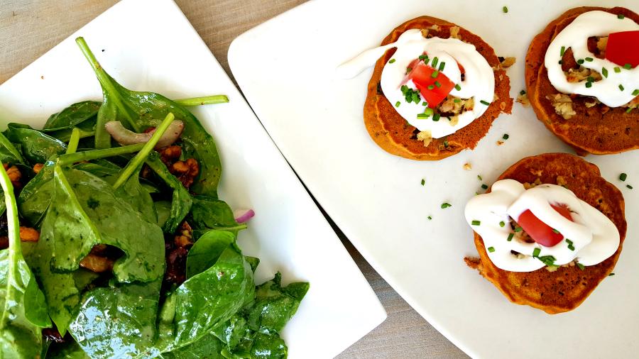 the vegan chickpea: Experience | Woodstock, New York: Garden Cafe + ...
