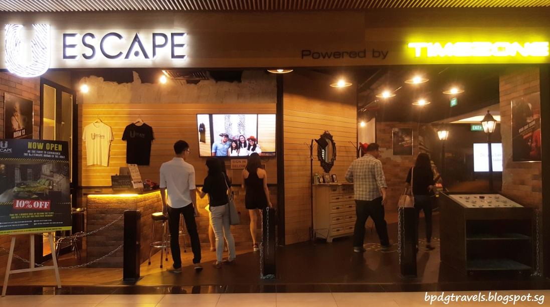 Escape Room Plaza Singapura