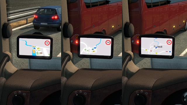 Euro Truck Simulator 2 v1.34 Google Navigasyon