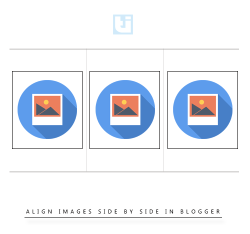 Tutes Inside- Align Images In One Line