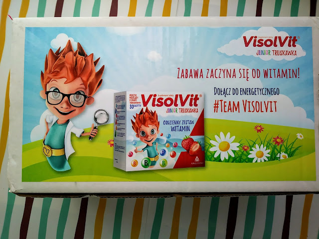 VisolVit Junior - zestaw witamin dla naszych maluchów .