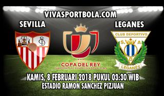 Prediksi Sevilla vs Leganes 8 Februari 2018