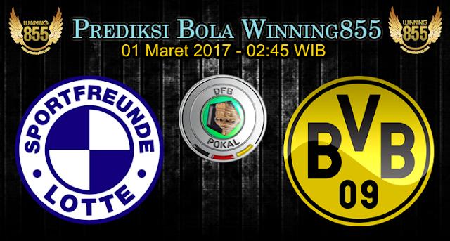 Prediksi Skor Sportfreunde Lotte vs Borussia Dortmund 01 Maret 2017