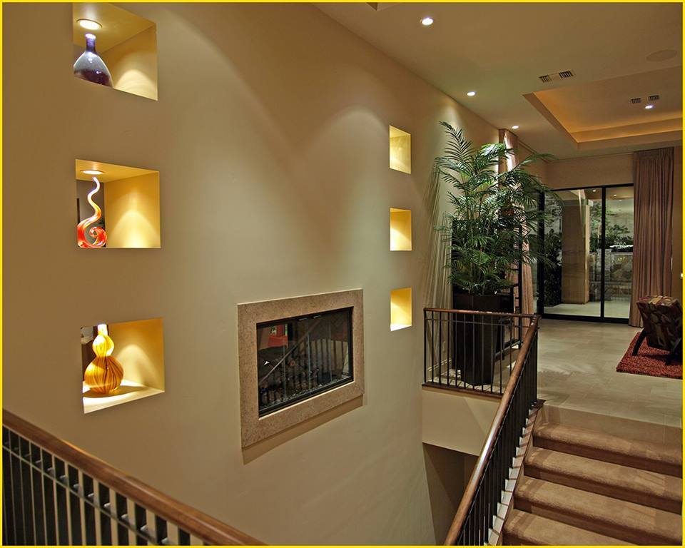25 fine ways to design built in wall niches decor units for Decoration niche murale