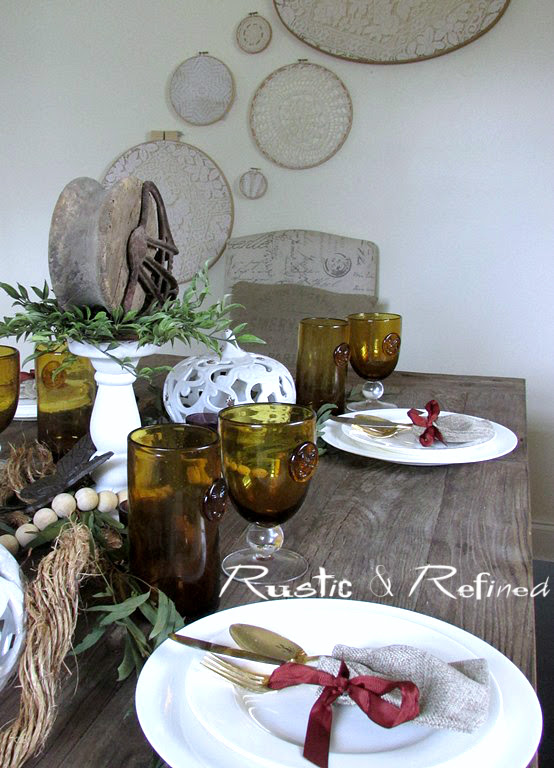 Barnwood Tablescape