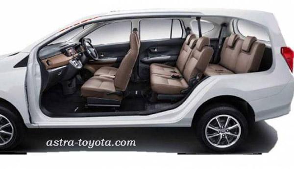MPV Toyota Calya dengan 7 Penumpang