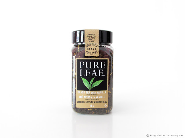 Pure Leaf Home Brewed Hot Teas Review in Black Tea with Vanilla Loose Long Leaf