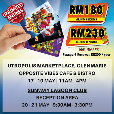 Sunway Lagoon Malaysia Passport to the Best Day Ever