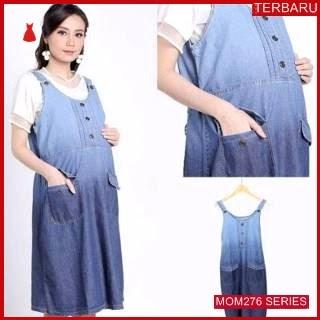 MOM276D12 Dress Hamil Menyusui Modis Ombresia Dresshamil Ibu Hamil