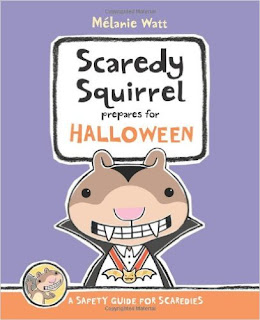 "Cover of book ""Scaredy Squirrel Prepares for Halloween"""