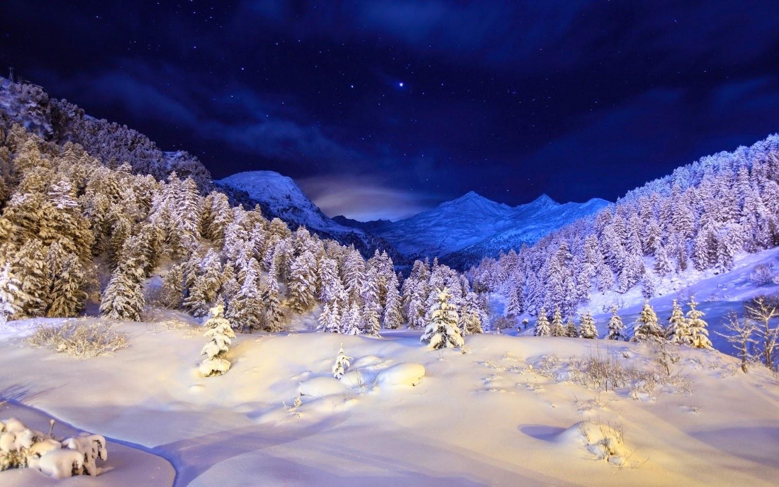 Versiculos De La Biblia De Animo: Paisajes De Invierno