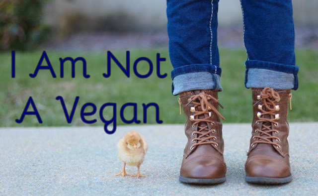 I am not a vegan