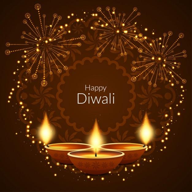 diwali firecrackers vector image