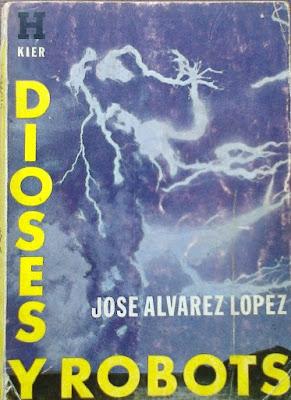 Portada de Libro Dioses y Robots de Jose Alvarez Lopez