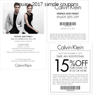Calvin Klein Coupons