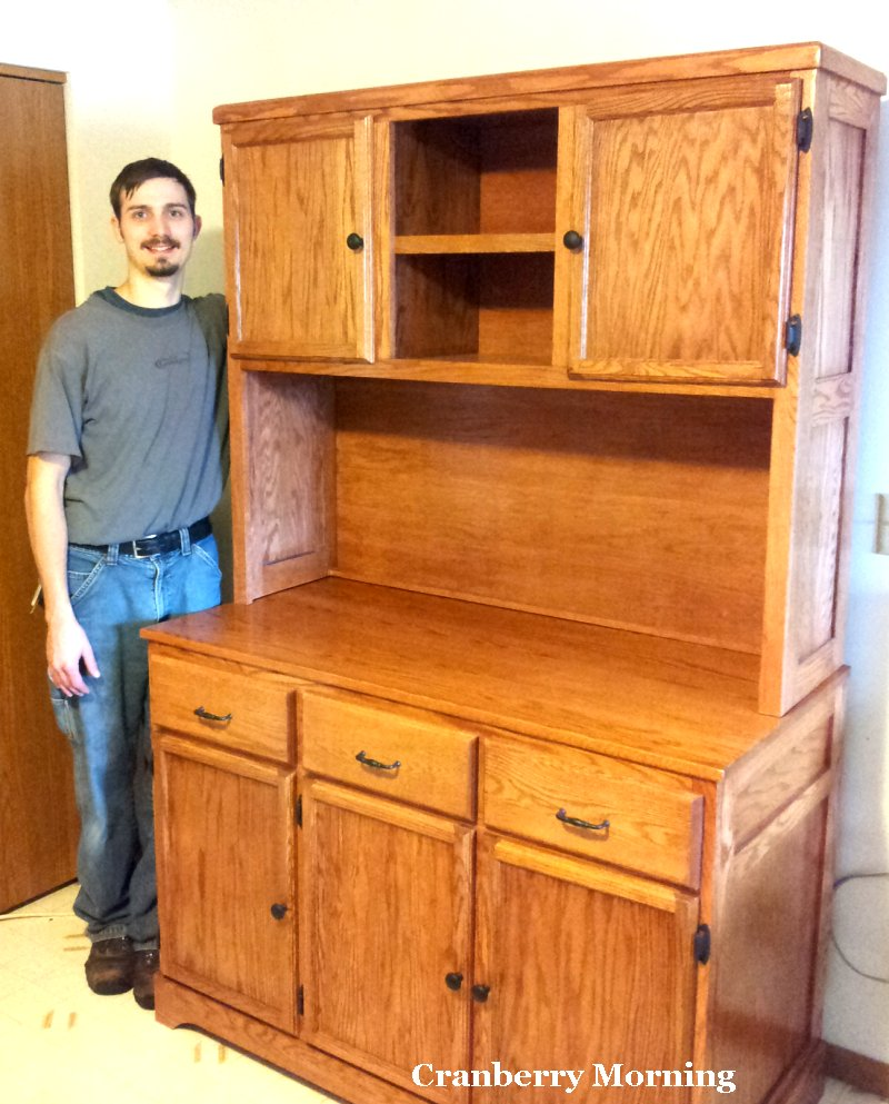 incredible Kitchen Hutch Diy Part - 5: DIY Kitchen Hutch - by Joe