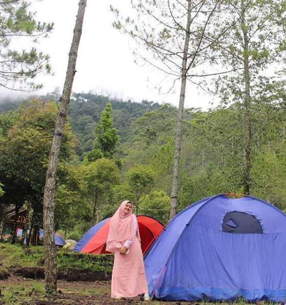 Tempat Camping Ground di Punceling Pass Ciwidey Bandung