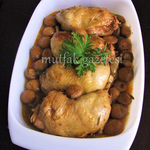 Fırın poşetinde ıtırlı tavuk