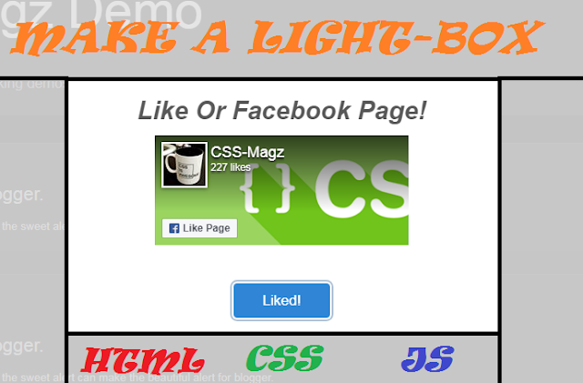MAKE A LIGHTBOX