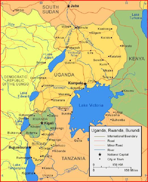 image: Map of Rwanda