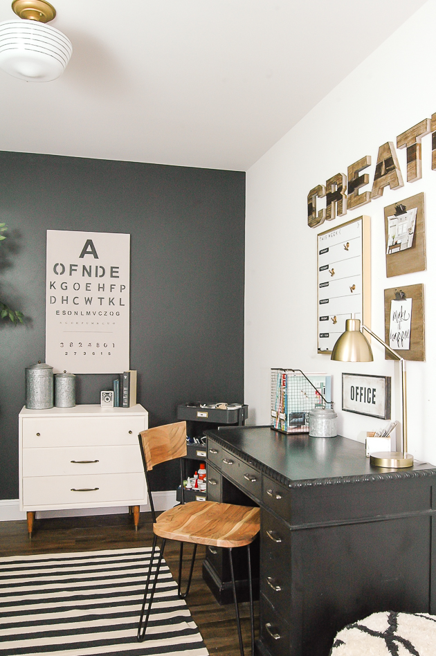 Industrial Modern Farmhouse Office