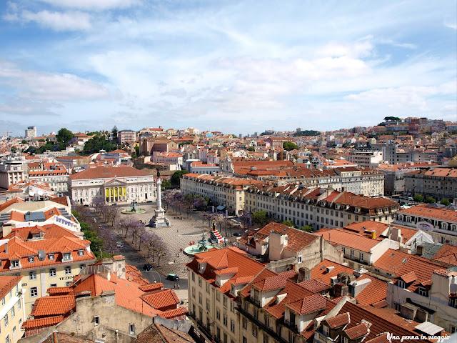 Mirador Elevador Santa Justa Lisboa