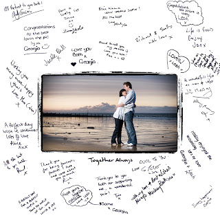 photographic wedding guest book ideas