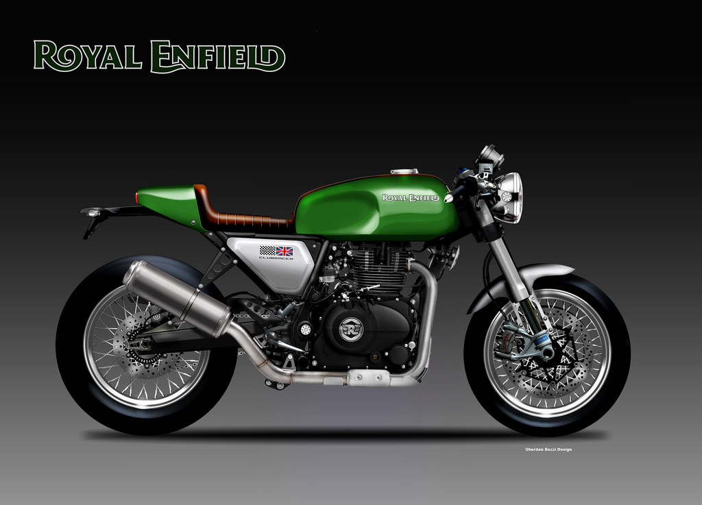 Motosketches Royal Enfield Clubracer 400 Concept