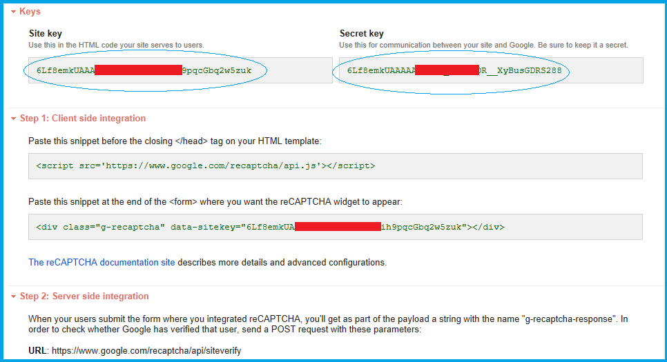 Code Samples: Setting Up Recaptcha 2 0 with JavaScript and PHP
