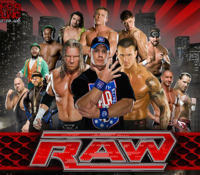 WWE Monday Night Raw 11 April 2016