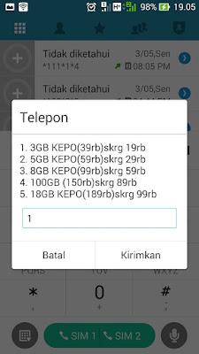 paket internet tri 3 murah 3gb 19 ribu
