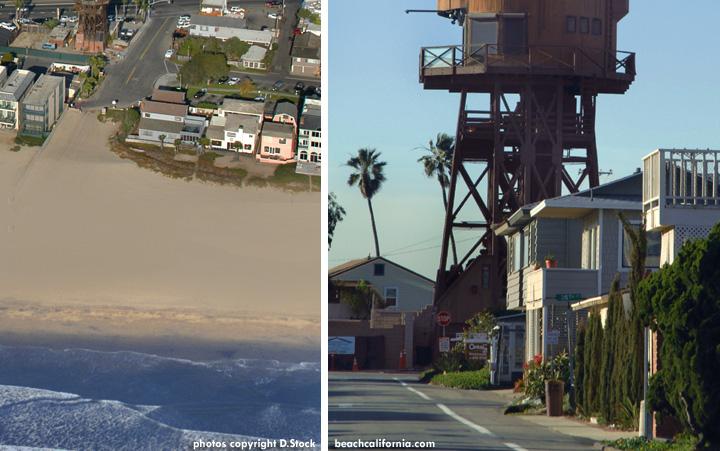 Water Tower House In Sunset Beach California